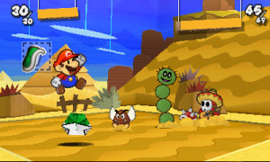 Paper Mario: Sticker Star Review - Screenshot 4 of 4