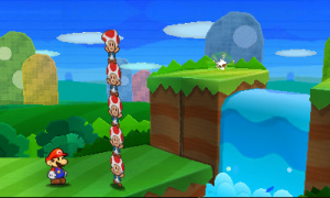 Paper Mario: Sticker Star Review - Screenshot 1 of 4