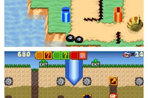 Dig Dug Digging Strike Screenshot