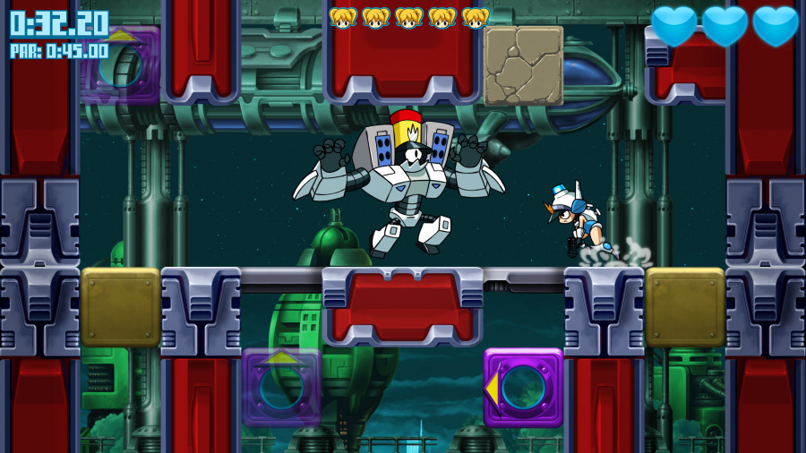 Mighty Switch Force: Hyper Drive Edition Review - Screenshot 2 of 3