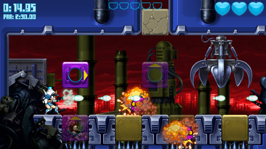 Mighty Switch Force: Hyper Drive Edition Review - Screenshot 1 of 2