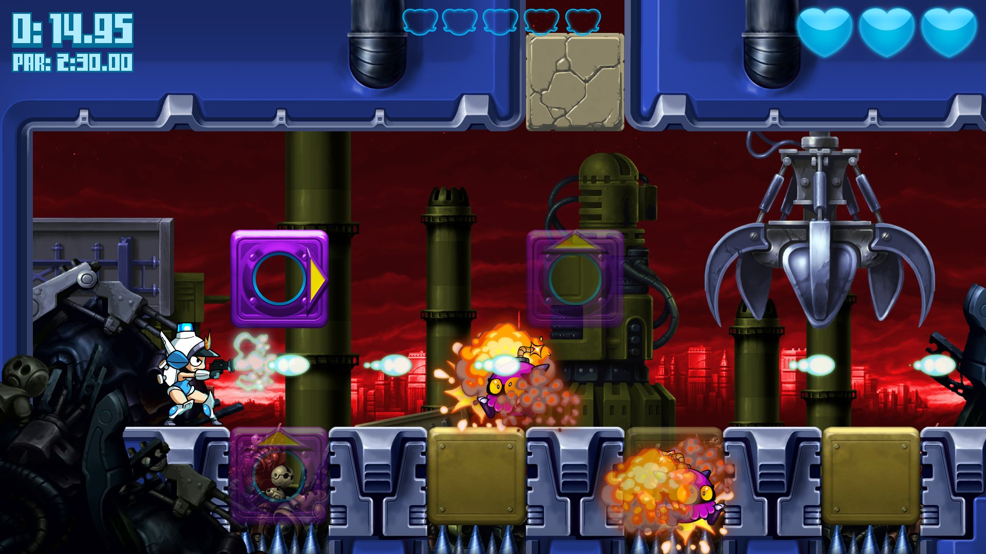 Co Op Advertising >> Mighty Switch Force: Hyper Drive Edition (Wii U eShop) Screenshots