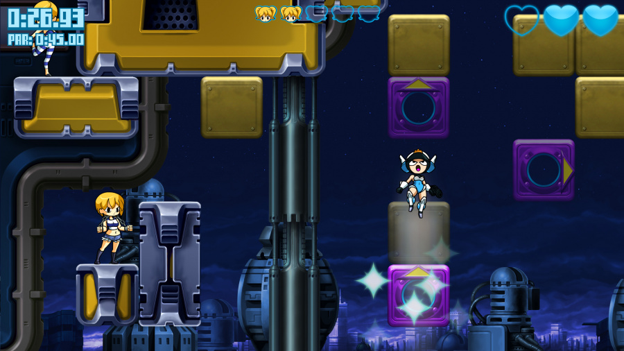 Mighty Switch Force: Hyper Drive Edition Review - Screenshot 1 of 3