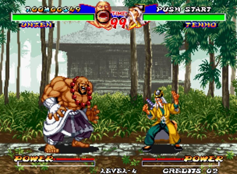 Ninja Master's: Haō Ninpō Chō Screenshot