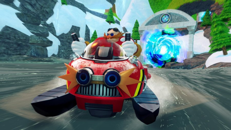 Sonic & All-Stars Racing Transformed Review - Screenshot 3 of 5
