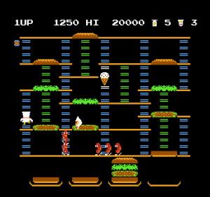 BurgerTime Review - Screenshot 1 of 3