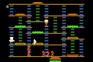 BurgerTime Screenshot