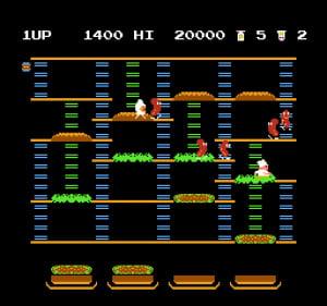 BurgerTime Review - Screenshot 2 of 3