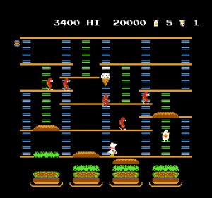 BurgerTime Review - Screenshot 3 of 3