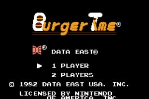 BurgerTime Screenshot