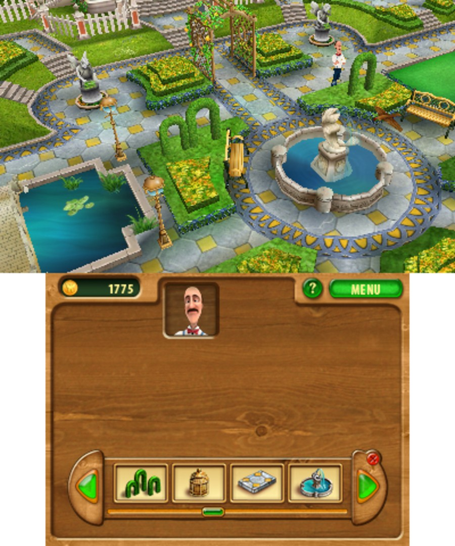 Gardenscapes Screenshot