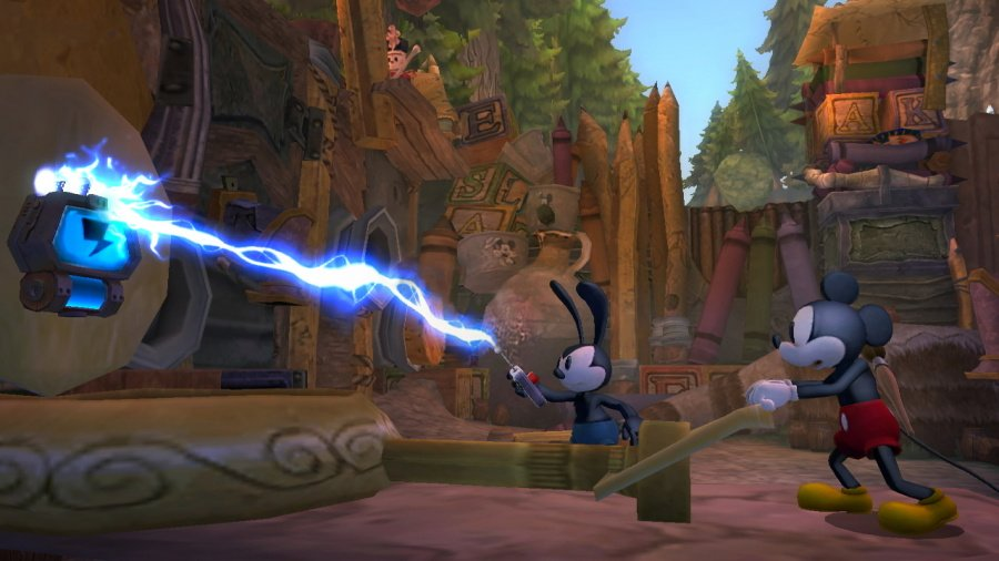Disney Epic Mickey 2: The Power of Two Review - Screenshot 1 of 5
