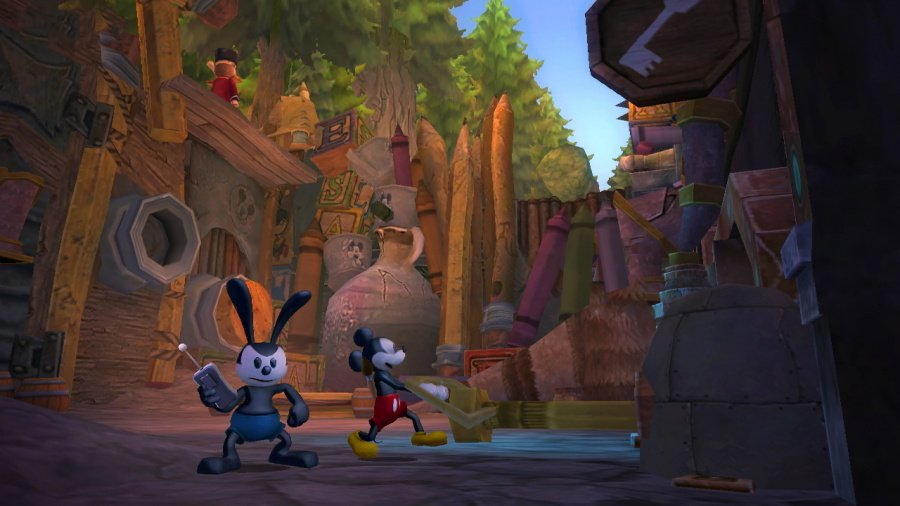 Disney Epic Mickey 2: The Power of Two Review - Screenshot 3 of 5