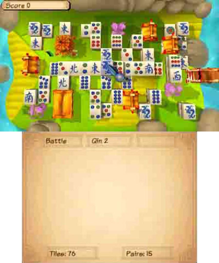 Mahjong 3D - Warriors of the Emperor Screenshot