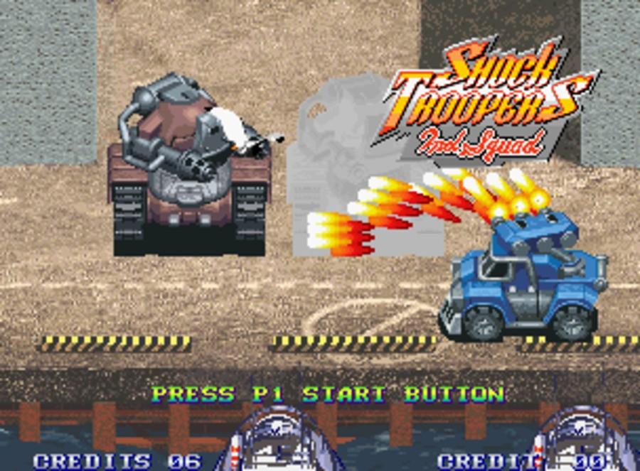Shock Troopers 2nd Squad Screenshot