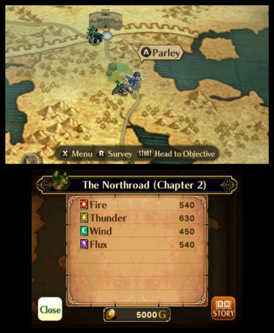 Fire Emblem: Awakening Screenshot