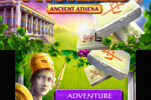 Mahjong Mysteries - Ancient Athena Screenshot