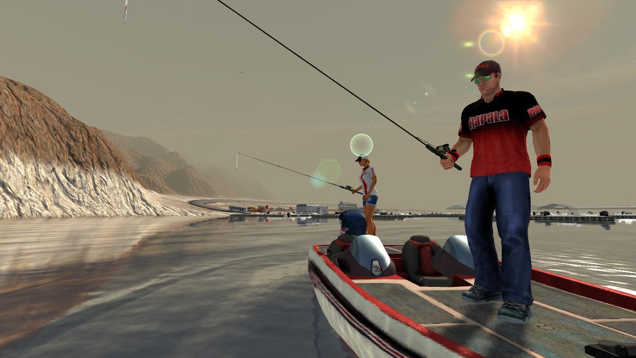 Rapala pro bass fishing wii u news reviews trailer for Bass fishing games