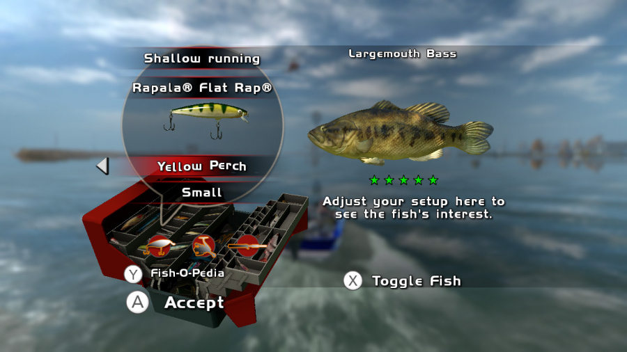 Rapala Pro Bass Fishing Review - Screenshot 2 of 4