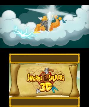 Swords & Soldiers 3D Review - Screenshot 2 of 6