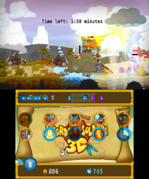 Swords & Soldiers 3D Review - Screenshot 3 of 6