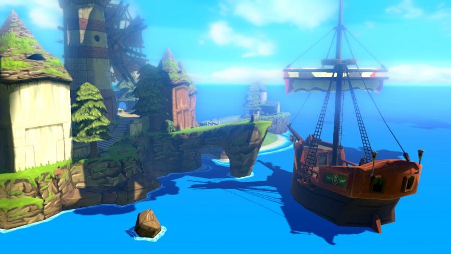 The Legend of Zelda: The Wind Waker HD Review - Screenshot 7 of 8