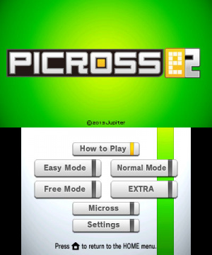 Picross e2 Review - Screenshot 2 of 3