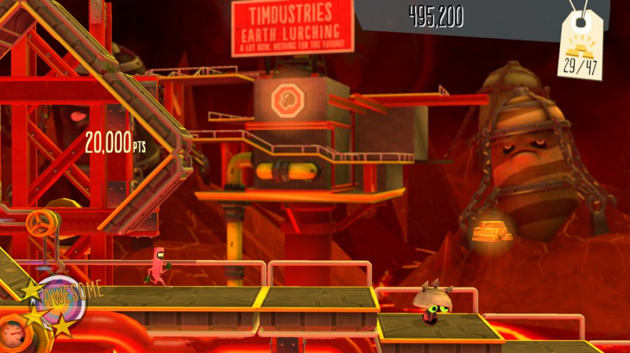 BIT.TRIP Presents: Runner 2 Future Legend of Rhythm Alien Review - Screenshot 1 of 4
