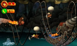 Donkey Kong Country Returns 3D Review - Screenshot 1 of 6