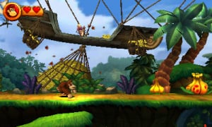 Donkey Kong Country Returns 3D Review - Screenshot 3 of 6