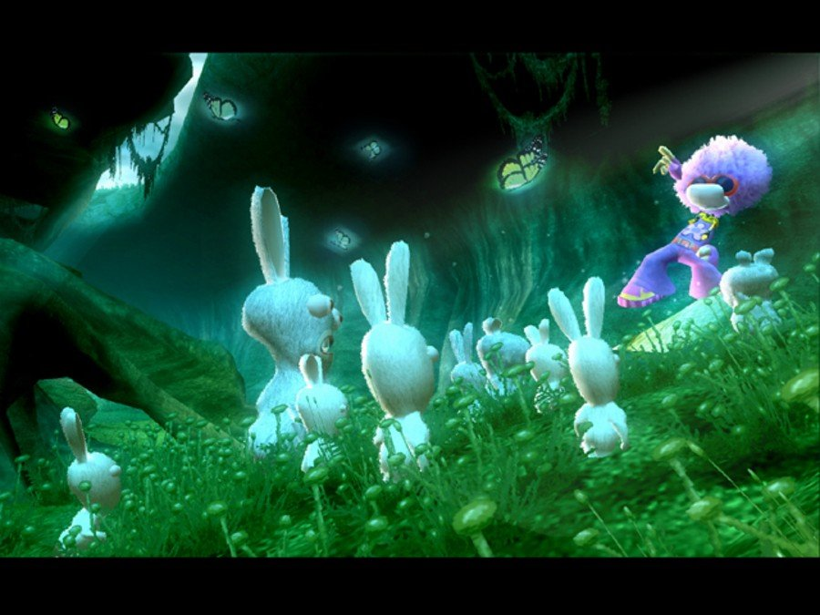 Rayman Raving Rabbids Screenshot
