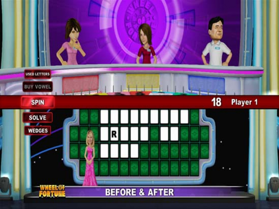 Wheel of Fortune Review - Screenshot 1 of 5