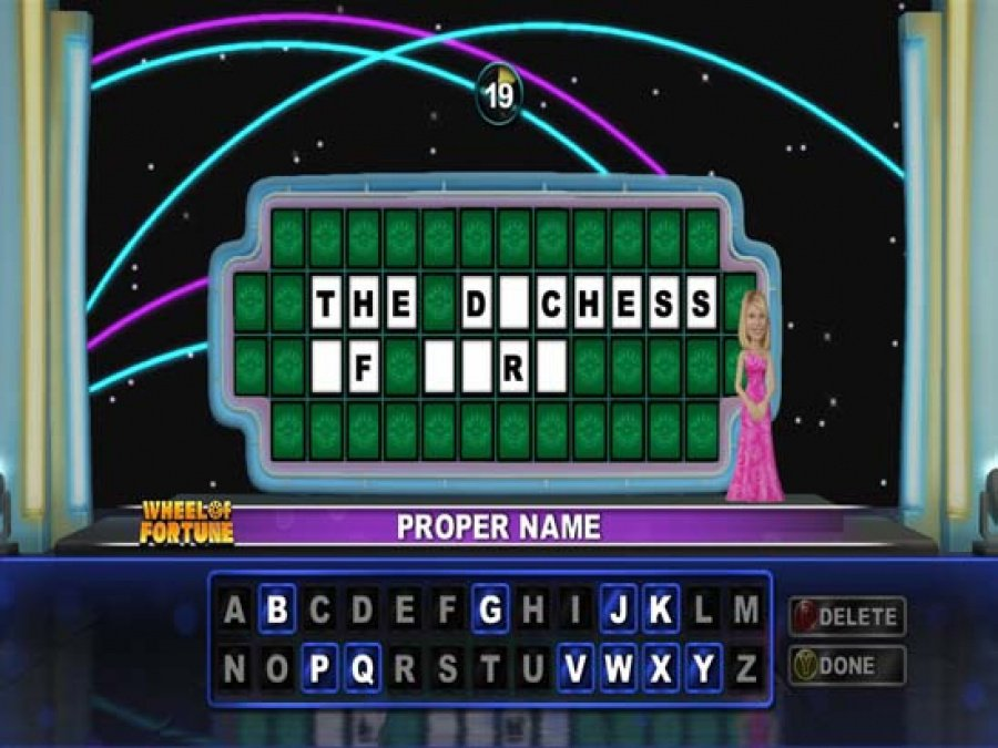 Wheel of Fortune Review - Screenshot 2 of 5