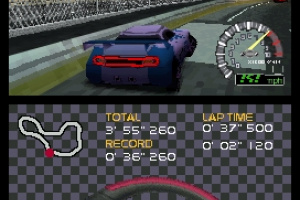 Ridge Racer DS Screenshot