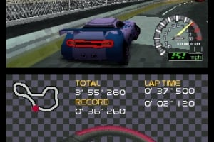 Ridge Racer DS Screenshot