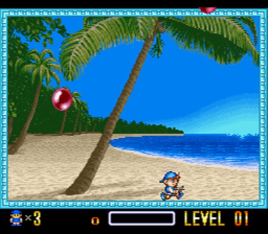Super Pang Screenshot