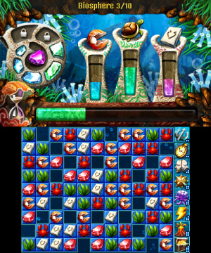 Jewel Master Atlantis 3D Review - Screenshot 1 of 4