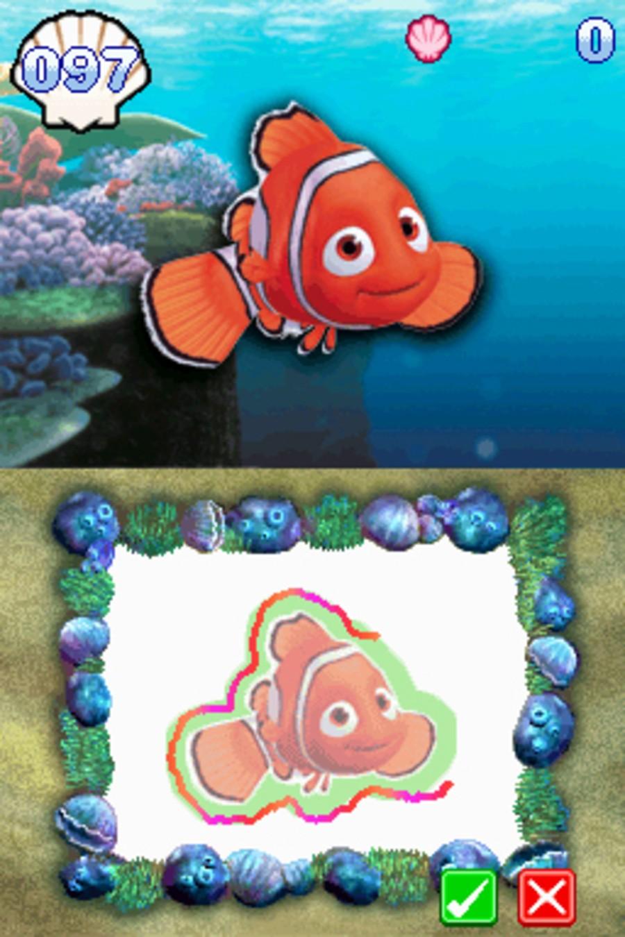 Finding Nemo: Escape to the Big Blue Screenshot