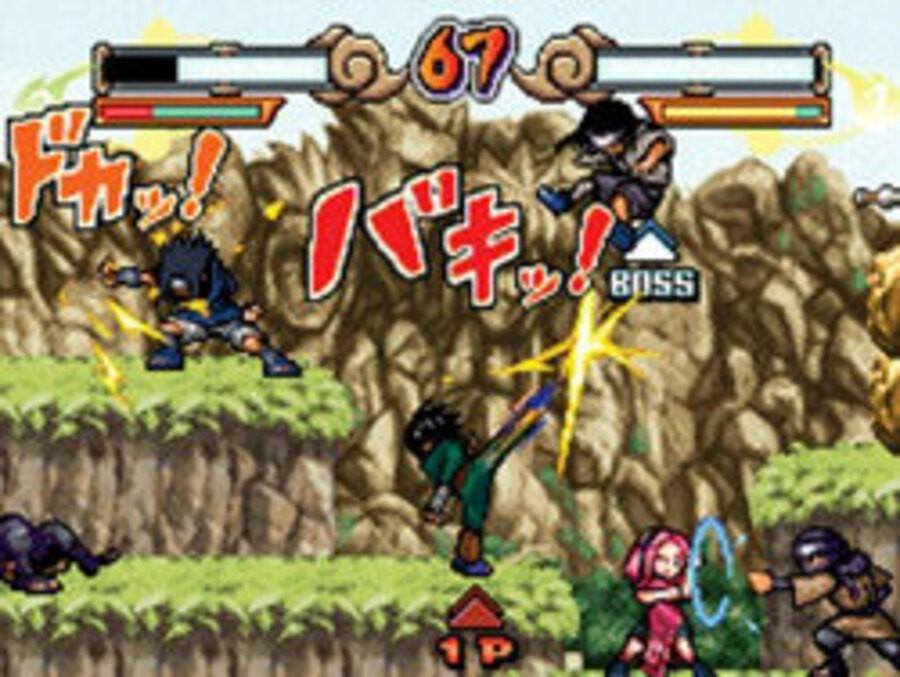 Naruto: Saikyo Ninja Daikesshu 4 Screenshot