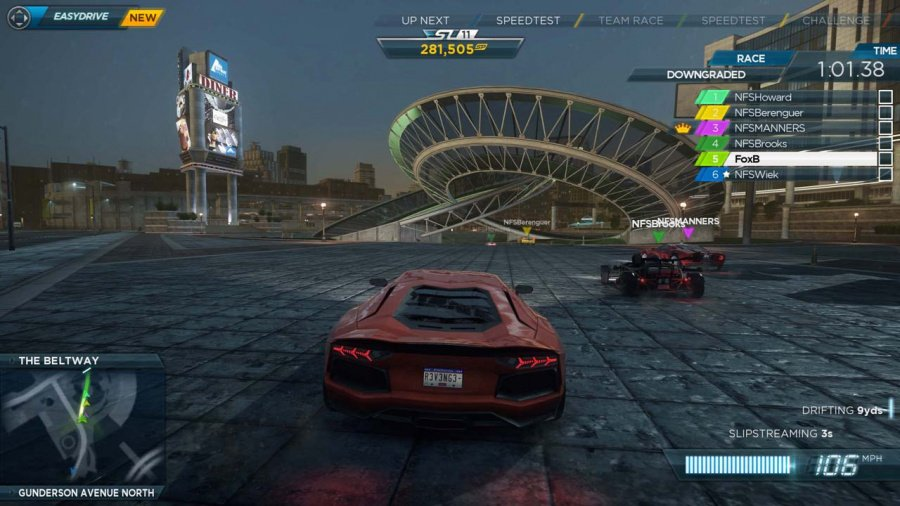 Need for Speed: Most Wanted U Review - Screenshot 4 of 7