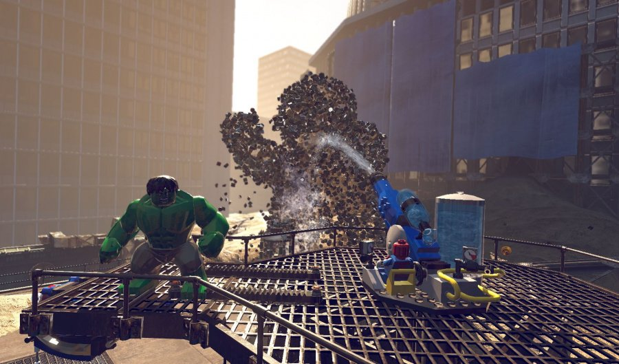 LEGO Marvel Super Heroes Review - Screenshot 2 of 6
