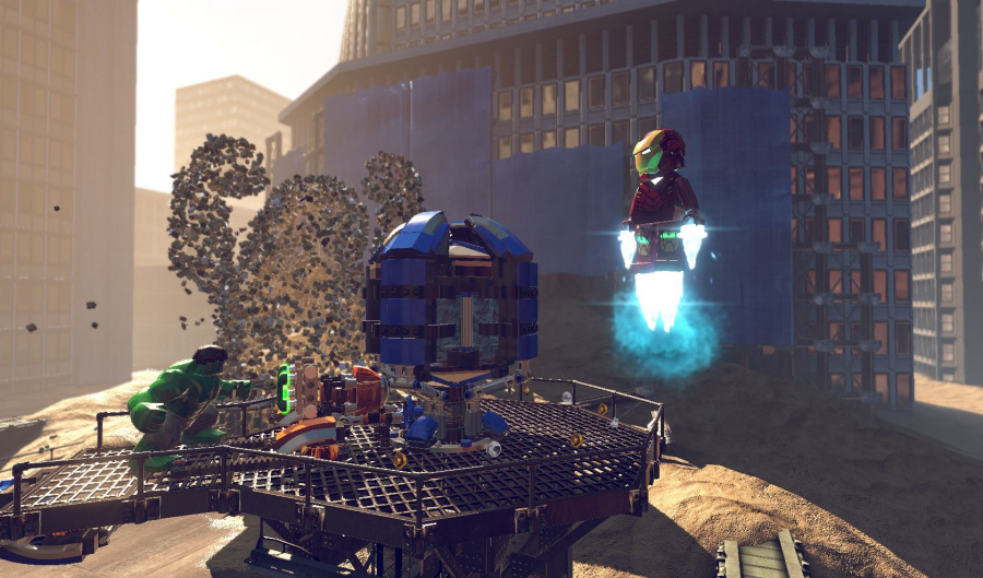LEGO Marvel Super Heroes Review - Screenshot 1 of 5