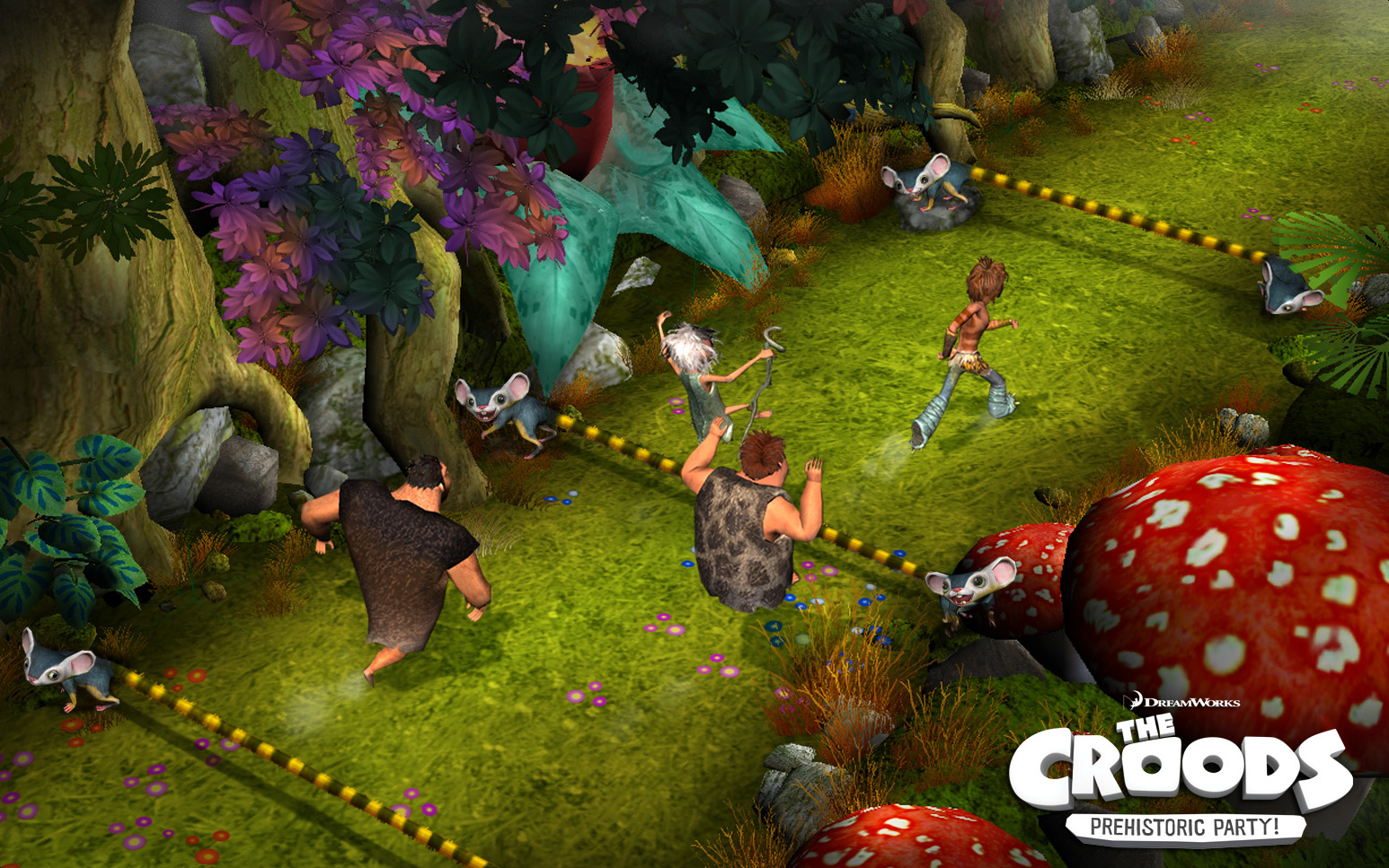 croods prehistoric party