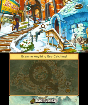 Professor Layton and the Azran Legacy Review - Screenshot 4 of 6