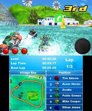 Aqua Moto Racing 3D Review - Screenshot 1 of 4