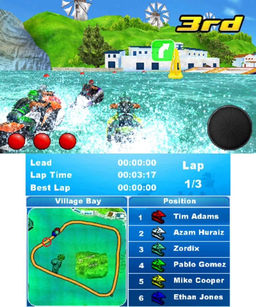 Aqua Moto Racing 3D Screenshot