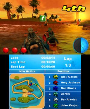 Aqua Moto Racing 3D Review - Screenshot 2 of 4