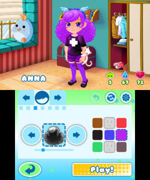 Dress To Play: Magic Bubbles! Review - Screenshot 1 of 6