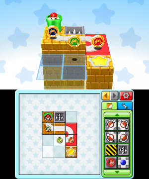 Mario and Donkey Kong: Minis on the Move Review - Screenshot 2 of 5