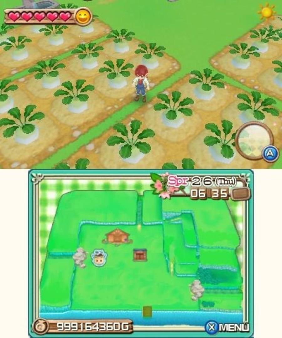 Harvest Moon: A New Beginning Screenshot